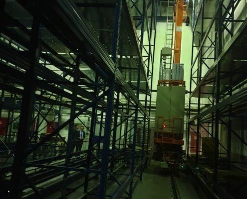 Автоматизированный склад паллетного хранения