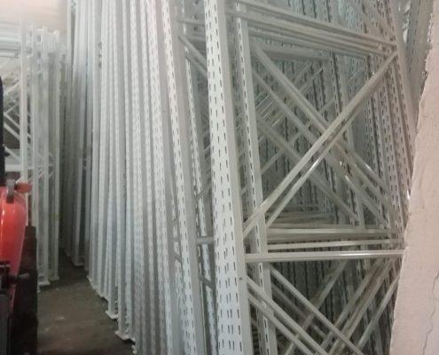 Среднегрузовые стеллажи б/у Полиметалл-М и ГТС